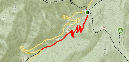 Mormon Pioneer Trail - West Upper Segment Map