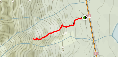 Rock Glacier Trail Map
