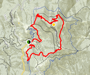 Bogus Basin Loop Trail Map