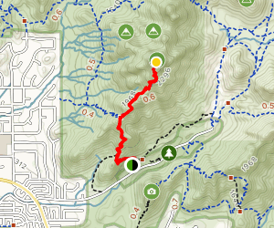 Piestewa Peak Summit Trail #300 Map