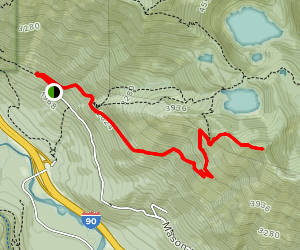 Bandera Mountain Summit Map