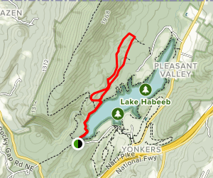 Rocky Trail and Settler's Trail, Rocky Gap Map