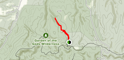 Garden of the Gods Trail Map