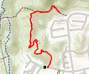 Doubletree Trail Map