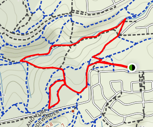Magpie Creek and Bush For Life Loop Map