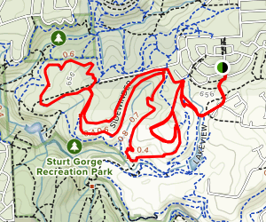 Surf and Turf, Cow Boned, Sidewinder, Walk the Dog Loop Map
