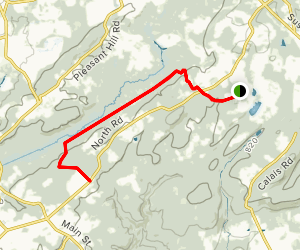 Patriots Path: Heistein Park to Black River Recreation Map