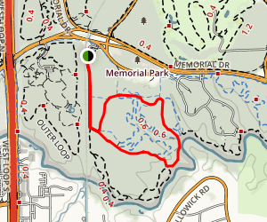 Purple and Red Loop Map