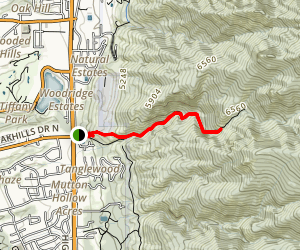 Adams Canyon Trail Map