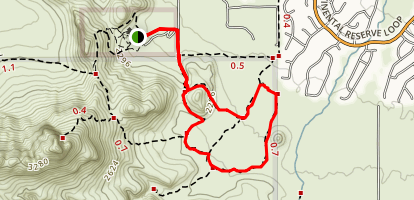 Packrat and Passey Loop Trail Map