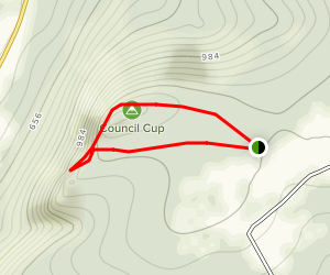 Council Cup Scenic Overlook Map