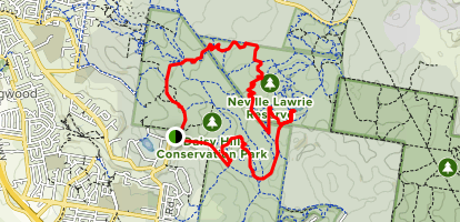 Daisy Hill Loop Map