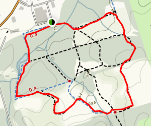 Countryside Preserve Trails Loop Map
