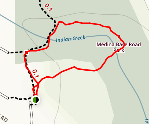 Medina Base Park Loop Map