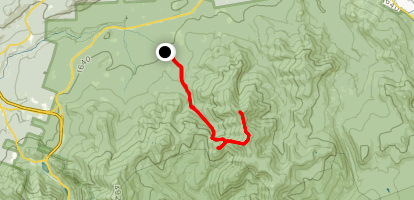 North Twin and South Twin via Gale River Trail Map