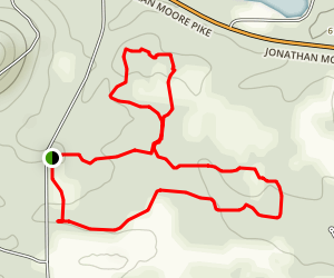 Shawnee and Lenape Trail Loop Map