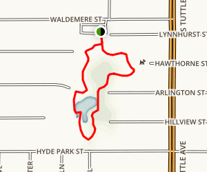 Arlington Park Nature Loop Map