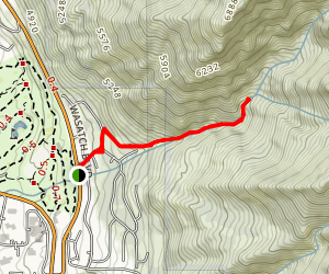 Heughs Canyon Trail Map