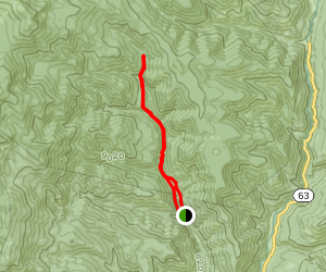 Holy Ghost Creek Trail Map