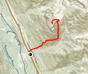 Grizzly Peak Trail Map