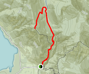 Kachess Beacon Trail Map