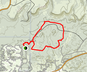Houston Loop Trail Map