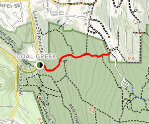 Military Road Trail Map