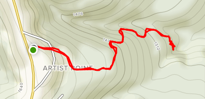 Artist Point Trail (CLOSED) Map