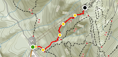 Grouse Grind Trail Map