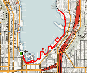 Lake Union Waterfront Walkway: Northwest Seaport Map