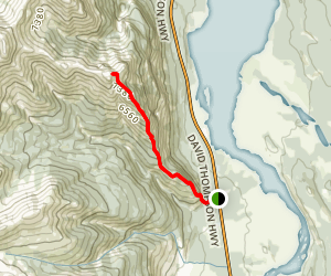 Mount Ernest Ross Trail Map