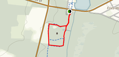 Scotland Run Nature Trail Map