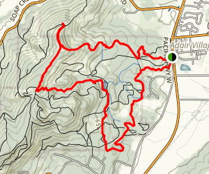 560 and Forest Discovery Loop Map