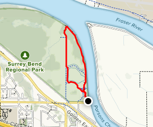 Parsons Trail and Pacific Trail Loop Map