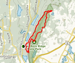 West Rock Loop Map