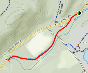 Morris Canal Greenway Trail Map