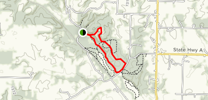 Wire Road Conservation Area Loop Map