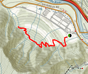 Wulfsohn Trail and Defiance Trail Map