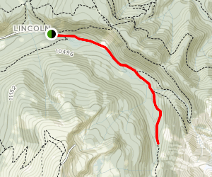 Little French Gulch Trail Map