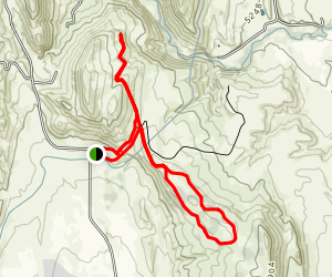 Little Thompson Overlook Trail and Eagle Wind Trail Loop Map