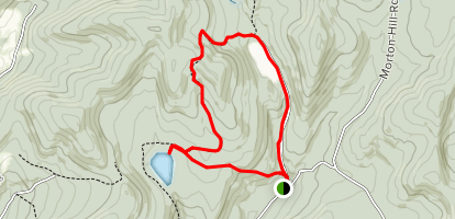 Snowmobile, Mud Pond, Trout Pond Loop Map