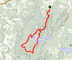 Birkhead Mountain Trail Map