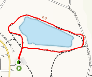 Horse Pond Trail Map