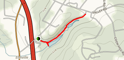 Cat Hollow Trail Map