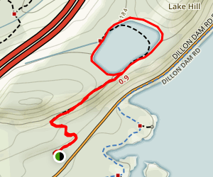 Old Dillon Reservoir Trail Map