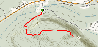 Red Rock Mountain Trail Map