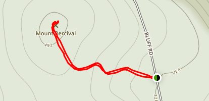 Mount Percival Map