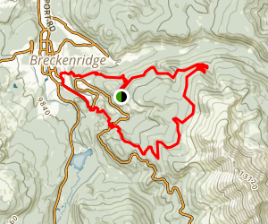 True Romance and Baker's Tank Loop Trails Map
