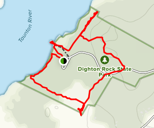 Dighton Rock Nature Loop Map