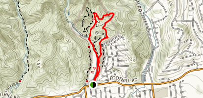 Arroyo Verde Park Loop Map